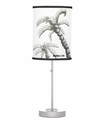 Tranquilo Island Life Table Lamp