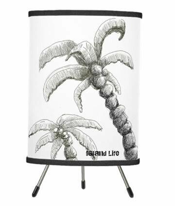 Tranquilo Island Life Tripod Table Lamp