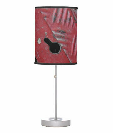 Red Road Tripod Table Lamp - Urban Vibe Collection