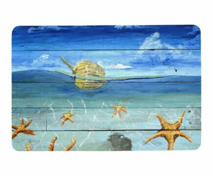 Starfish Beach Floor Mat
