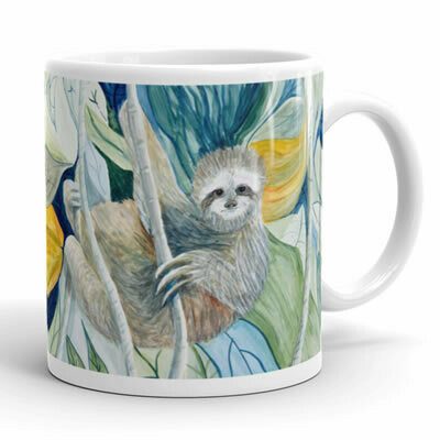 Sloth In The Rainforest Mug