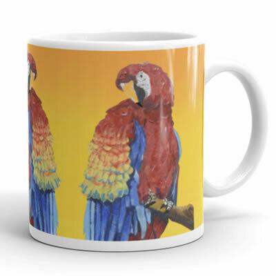 Amazon Parrot Mug