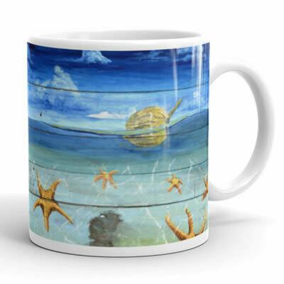 Starfish Beach Mug