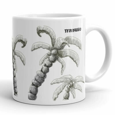 Tranquilo Island Life Mug