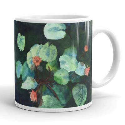 Lilies In Water Mug
