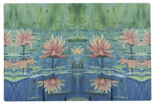 Peach Lilies Placemats & Napkins