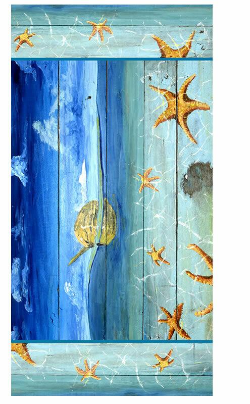 Starfish Beach -  Beach Towel