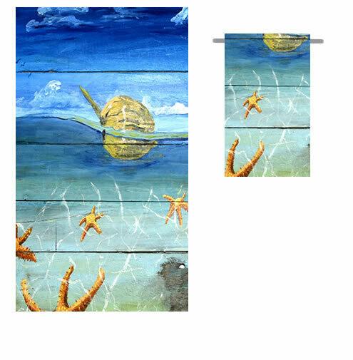 Starfish Beach -  Bath Hand Towel
