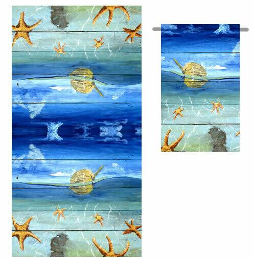 Starfish Beach -  Bath Towel