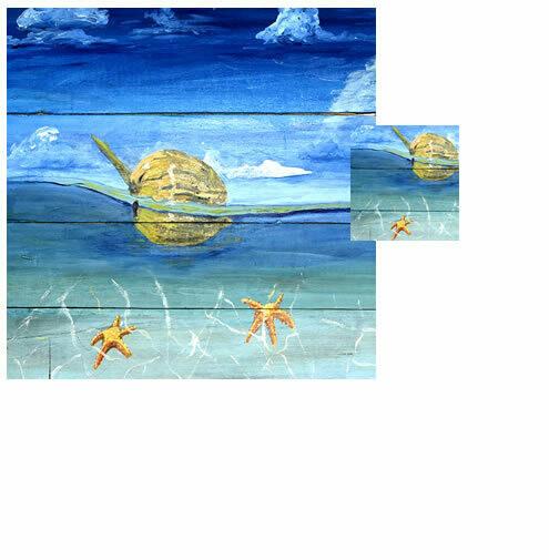 Starfish Beach -  Wash Cloth