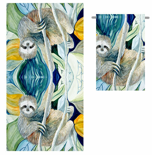 Sloth -  Bath Towel
