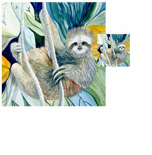 Sloth -  Wash Cloth