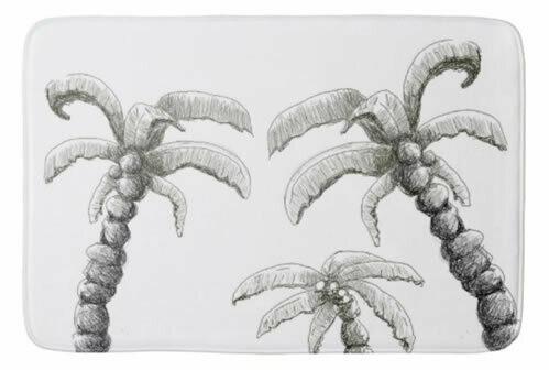 Palm -  Bath Mat