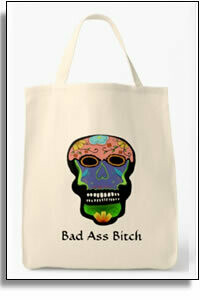 Bad Ass Bitch Grocery Tote
