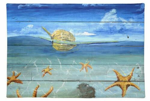 Starfish Beach - Placemats & Napkins