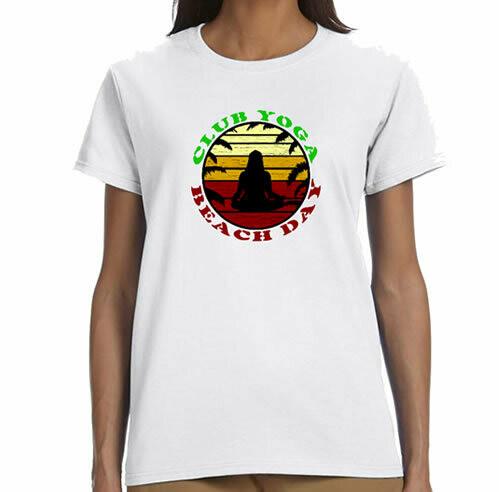 Yoga Club  R Neck T-Shirt