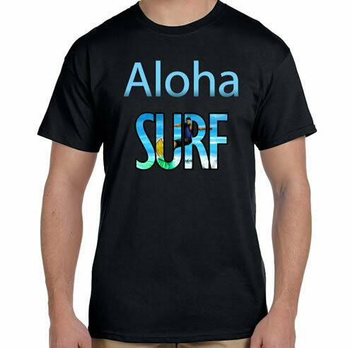 Aloha Surf R Neck T-Shirt