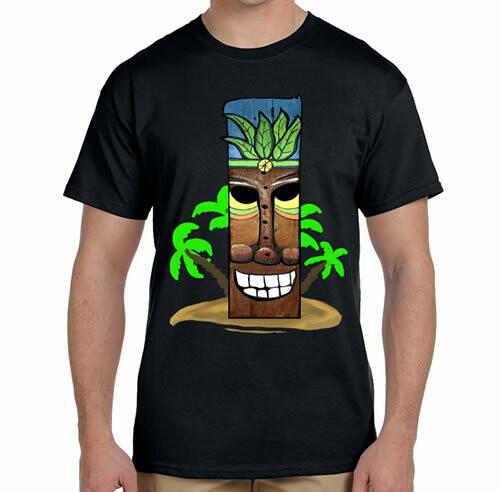 YaYa Tiki R Neck T-Shirt