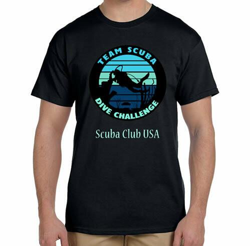 Scuba Team R Neck T-Shirt