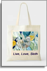 Sloth Budget Tote Bag