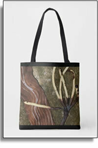 Fingers All Over Printed Tote Bags