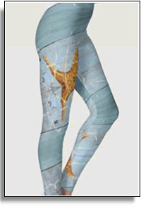 Starfish Beach Leggings