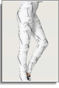 Palm Tree Pattern Leggings