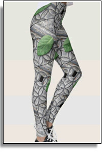 Green Leaf 2 Leggings