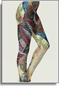Color Chaos Leggings