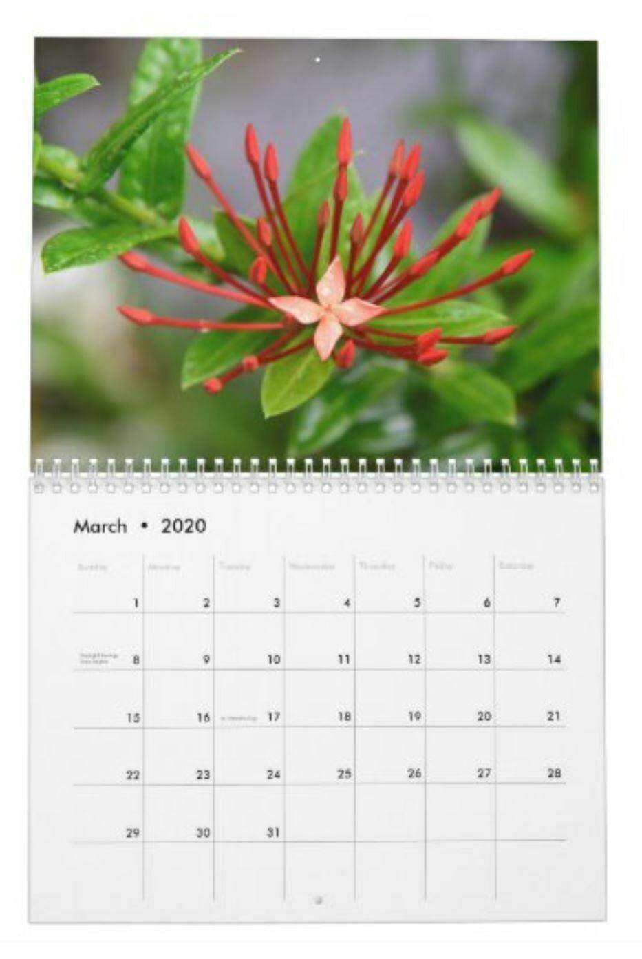 2020 Tropical Photo Calendar