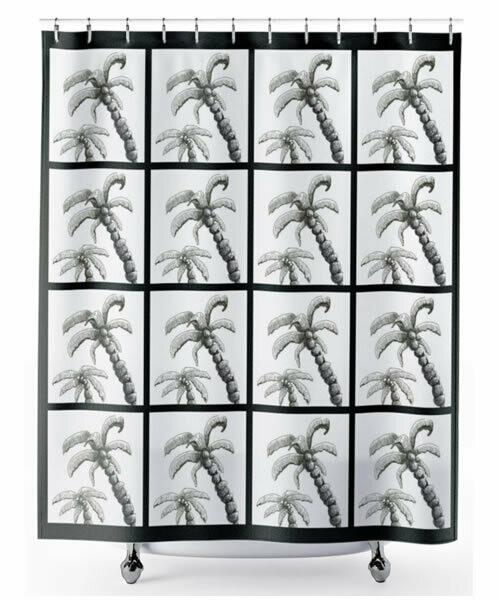 Palm Tree -  Shower Curtain
