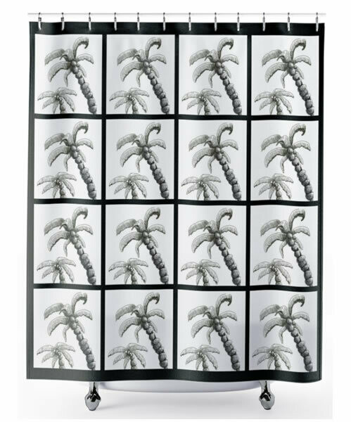 Palm Tree -  Shower Curtain