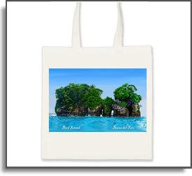 Bird Island Tote Bags