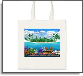 Cayos Zapatilla Tote Bag