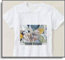 Sloth Island T-Shirt