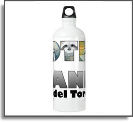 Sloth Island II Water Bottle