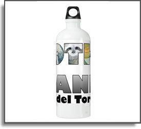 Sloth Island II Water Bottle