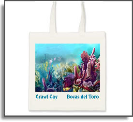Crawl Cay Tote Bag