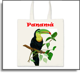Rainforest Toucan Tote Bag