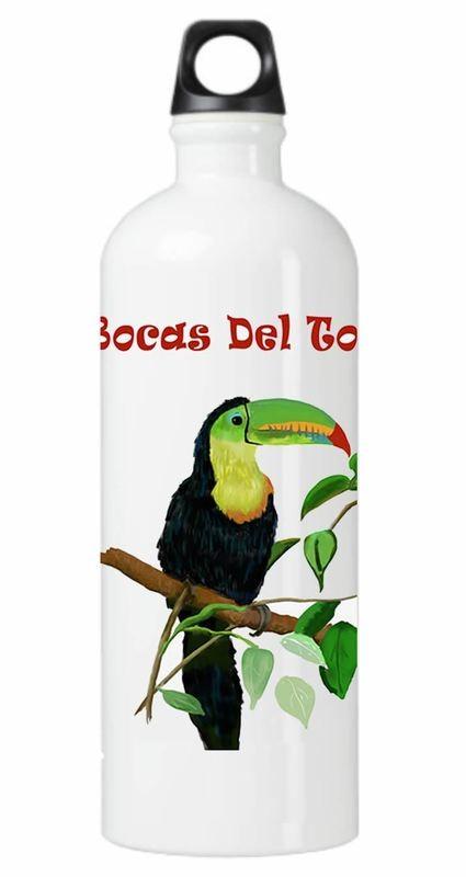 Rainforest Toucan Water Bottle