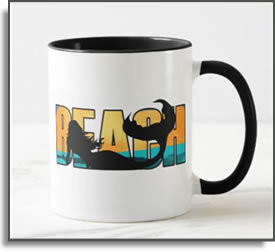 Beach Mermaid Mug