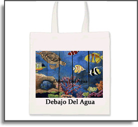 Debajo Del Agua Tote Bag