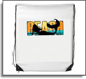 Beach Mermaid Backpack
