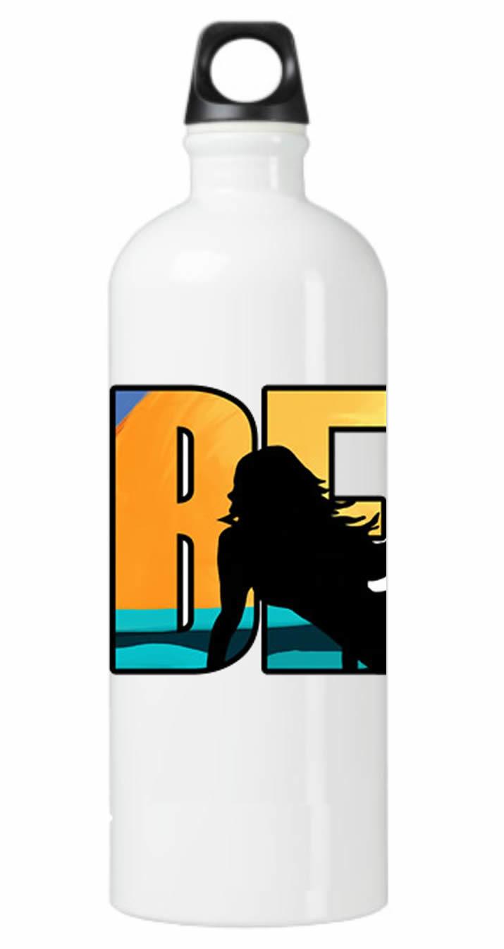 Beach Mermaid Water Bottle