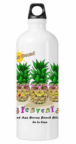 Bad Ass Bocas Beach Bitch Water Bottle