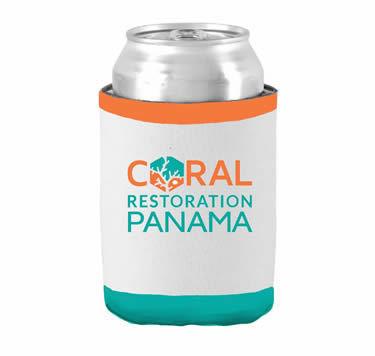 Coral Restoration Panamá Koozies