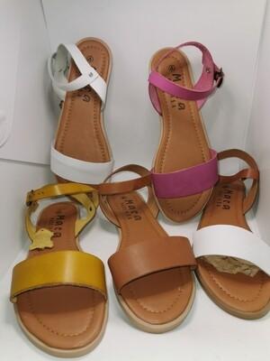 Ladies Leather Sandles