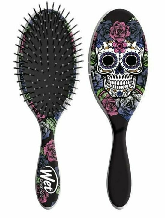 Wet Brush-Pro Detangle Professional Sugar Skull Purple Rose