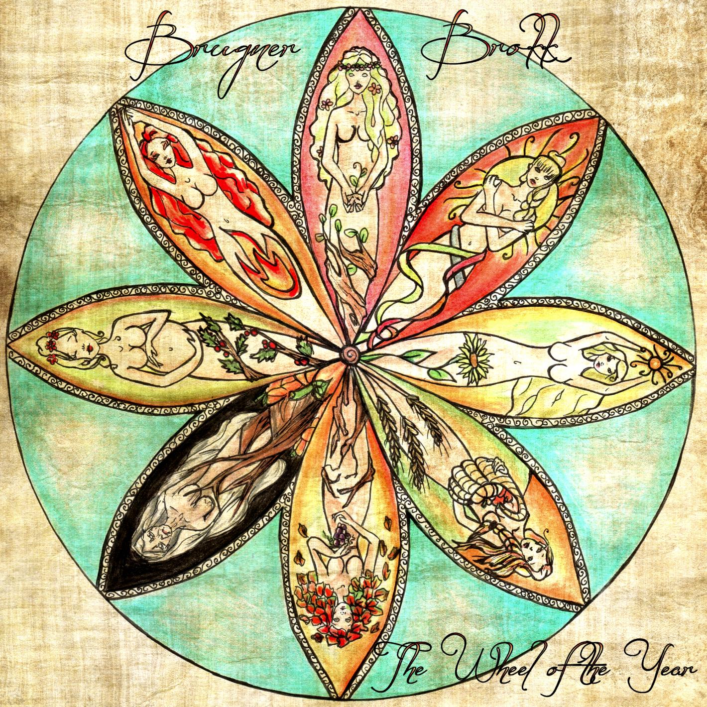 Brugner Brokk - The Wheel of the Year - 2CD digipak