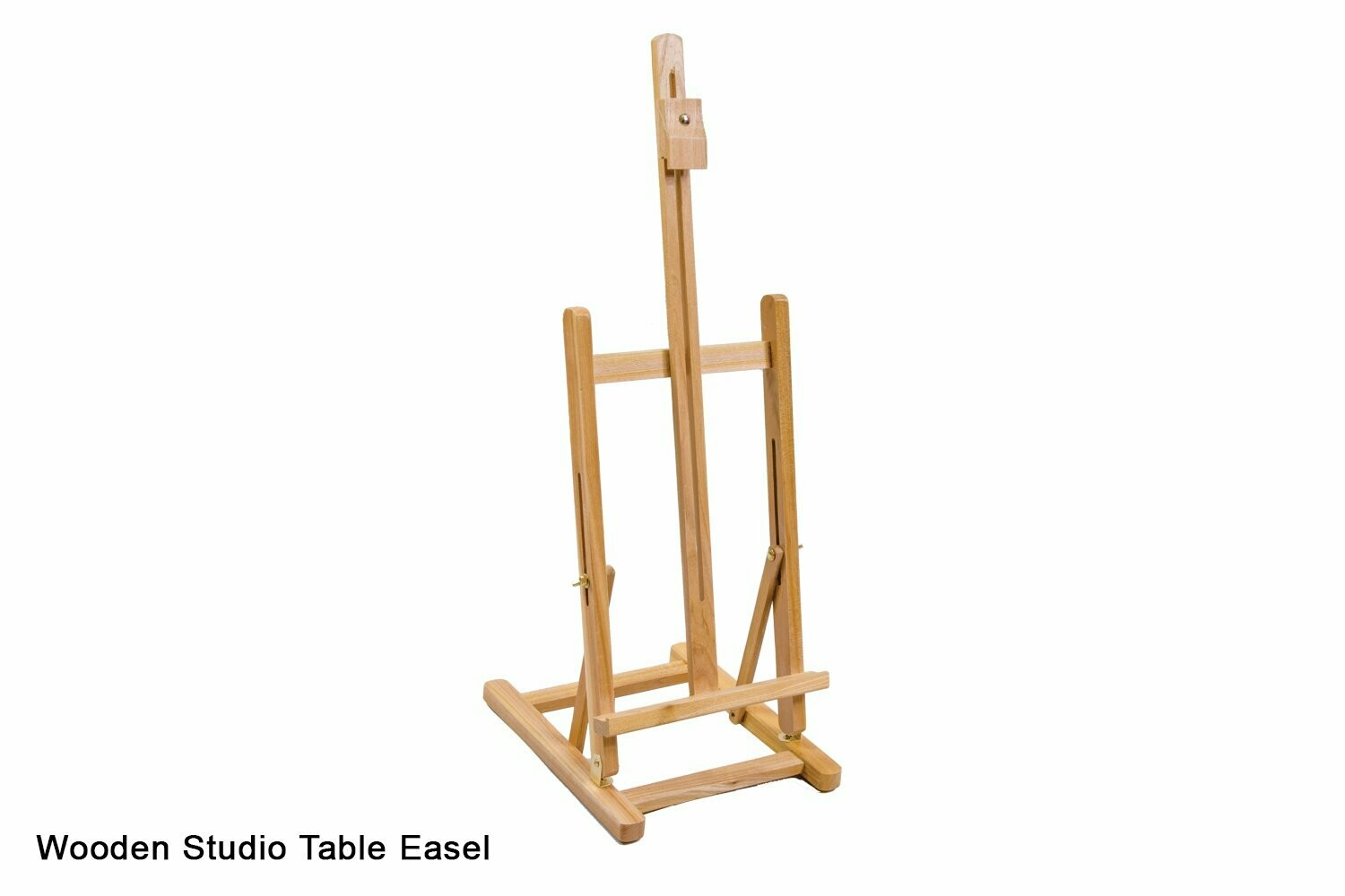 Wooden Adjustable Table Top Easel with Easy Store
